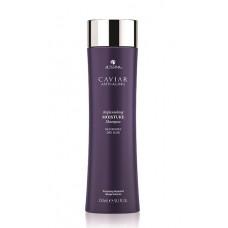 ALTERNA Шампунь-биоревитализация для увлажнения с морским шелком / Caviar Anti-Aging Replenishing Moisture Shampoo 250 мл