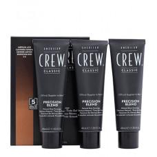 AMERICAN CREW 5/6 краска для седых волос, средний пепельный, для мужчин / Precision Blend 3*40 мл