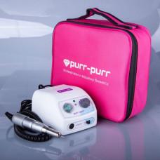 Аппарат для маникюра Purr Purr, Аппарат Estron S, с сумкой цвета фуксии