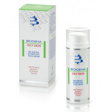 BIOGENA Крем матирующий для жирной кожи / BIOGENA OILY SKIN 50 мл