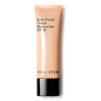 BOBBI BROWN Увлажняющий крем для лица с оттеночным эффектом СЗФ15 Nude Finish Tinted Moisturizer SPF 15