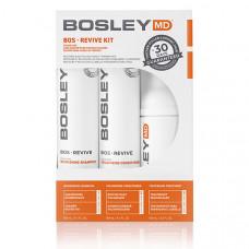 Bosley Система от выпадения для окрашенных волос Color Safe Starter Pack (Шампунь-активатор, 150 мл + Кондиционер, 150 мл + Несмываемый уход, 100 мл) (Bosley, BosRevive)