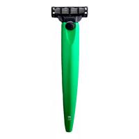 Бритва R1 Gillette Mach3 (зеленый металлик)