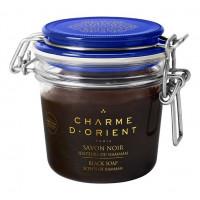 Черное мыло с ароматом эвкалипта Savon Noir Senteurs Du Hammam: Мыло 200мл