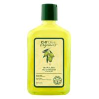 CHI Масло для волос и тела увлажняющее с шелком и экстрактом Оливы