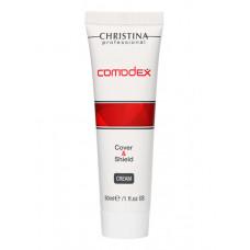 CHRISTINA Крем защитный с тоном SPF20 / Comodex Cover & Shield Cream 30 мл