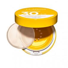 CLARINS Cолнцезащитный флюид для лица с легким тоном Compact Solaire Mineral Visage SPF 30