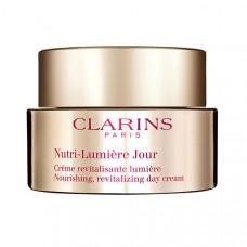 CLARINS Питательный антивозрастной дневной крем, придающий сияние зрелой коже Nutri-Lumiere