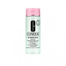 CLINIQUE Молочко для снятия стойкого макияжа All-in-One Cleansing Micellar Milk + MUR ST 3 & 4