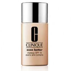 CLINIQUE Тональный крем для кожи, склонной к гиперпигментации Even Better Makeup SPF 15 № 06/CN 58 HONEY, 30 мл