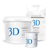 Collagene 3D Альгинатная маска для лица и тела с гиалуроновой кислотой 1200 г (Collagene 3D, Aqua Balance)