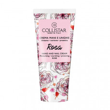 COLLISTAR Крем для рук и ногтей увлажняющий и питательный с ароматом розы