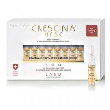 """Crescina Лосьон для мужчин """"Hfsc 100%"""" 500 для стимуляции роста волос, 40*3,5 мл (Crescina, Crescina 500)"""