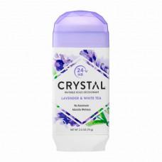 CRYSTAL Дезодорант твердый невидимый Лаванда и Белый чай