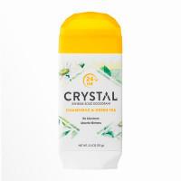 CRYSTAL Дезодорант твердый невидимый Ромашка и Зеленый чай