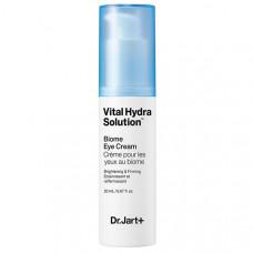 Dr. Jart+ Увлажняющий корректирующий биом-крем для глаз Biome Eye Cream, 20 мл (Dr. Jart+, Vital Hydra Solution)