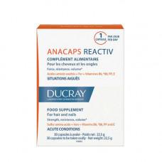 Ducray Анакапс Reactiv для волос и кожи головы №30 (Ducray, Биодобавка к пище)