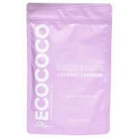 ECOCOCO Скраб для тела для расслабления и омоложения Лаванда и Кокос
