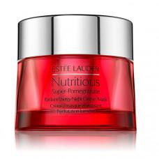 ESTEE LAUDER Ночная крем-маска с комплексом антиоксидантов для здорового сияния лица Nutritious Super-Pomegranate