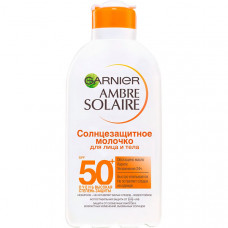 GARNIER Солнцезащитное молочко для лица и тела, SPF 50+, с Карите
