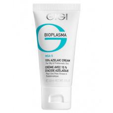 GIGI Крем с 15% азелаиновой кислотой для жирной проблемной кожи / Azelaic Cream BIOPLASMA 30 мл