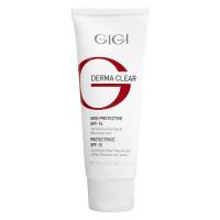 GIGI Крем увлажняющий защитный для лица SPF 15 / DERMA CLEAR Cream Protective 75 мл