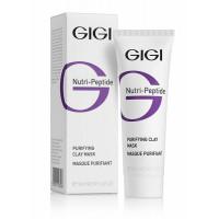 GIGI Маска очищающая глиняная для жирной кожи / Purifying Clay Mask Oily Skin NUTRI-PEPTIDE 50 мл