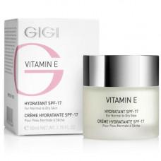 GIGI Увлажняющий крем для нормальной и сухой кожи SPF 17 «Витамин Е» 50 мл (GIGI, Vitamin E)