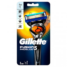 GILLETTE Бритва с 2 сменными кассетами FUSION ProGlide Flexball