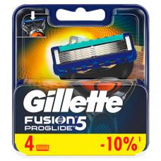 GILLETTE Сменные кассеты для бритья FUSION ProGlide