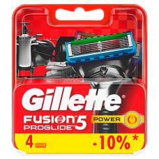 GILLETTE Сменные кассеты для бритья FUSION ProGlide Power