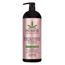 HEMPZ Шампунь для сохранения цвета и блеска окрашенных волос, грейпфрут и малина 1000 мл