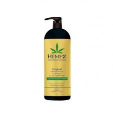 Hempz Шампунь Оригинальный для поврежденных окрашенных волос 1000 мл (Hempz, Оригинальная коллекция)