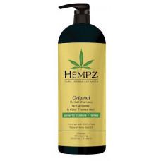 HEMPZ Шампунь растительный оригинальный для поврежденных окрашенных волос 1000 мл