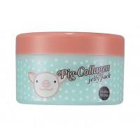 HOLIKA HOLIKA Маска ночная для лица Пиг-коллаген джелли пэк / Pig-Collagen jelly pack 80 г