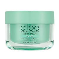 HOLIKA HOLIKA Увлажняющий крем для лица Aloe Soothing Essence 80% Moisturizing Cream 100ml