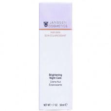Janssen Осветляющий ночной крем, 50 мл (Janssen, Fair Skin)