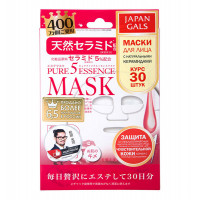 JAPAN GALS Маска с натуральными керамидами / Pure Essence 30 шт