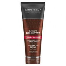JOHN FRIEDA Кондиционер для усиления насыщенности оттенка темных волос Brilliant Brunette VISIBLY DEEPER 250 мл