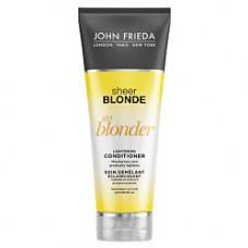JOHN FRIEDA Кондиционер осветляющий для натуральных, мелированных и окрашенных светлых волос Sheer Blonde Go Blonder 250 мл