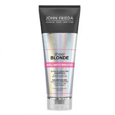 JOHN FRIEDA Шампунь для придания блеска светлым волосам SHEER BLONDE Brilliantly Brighter 250 мл