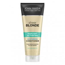 JOHN FRIEDA Увлажняющий активирующий кондиционер для светлых волос SHEER BLONDE