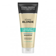 JOHN FRIEDA Увлажняющий активирующий шампунь для светлых волос SHEER BLONDE