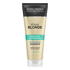 JOHN FRIEDA Увлажняющий активирующий шампунь для светлых волос Sheer Blonde 250 мл