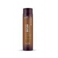 JOICO Шампунь тонирующий для поддержания коричневых оттенков/ COLOR INFUSE 300 мл