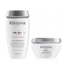 Kerastase Комплект Specifique (Шампунь-Ванна Prevention, 250 мл + Маска Hydra Apaisant, 200 мл) (Kerastase, Specifique)