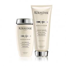 Kerastase Набор Densifique Легкий уход на каждый день для плотности и мягкости волос: Шампунь 250 мл + Молочко 200 мл (Kerastase, Densifique)