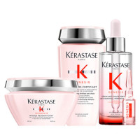 Kerastase Набор для ослабленных волос Genesis (Маска, 200 мл + Сыворотка, 90 мл + Ампулы, 10* 6 мл + Шампунь-ванна, 250 мл) (Kerastase, Genesis)