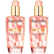 Kerastase Набор Elixir Ultime Масло для окрашенных волос Radiance Beautifying Oil, 2*100 мл (Kerastase, Elixir Ultime)