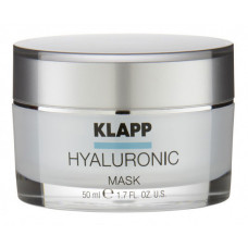 KLAPP Маска для лица Глубокое увлажнение / HYALURONIC 50 мл